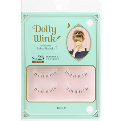 DollyWink アイラッシュ No.25 ピュアドール(下まつげ用)