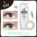 LILMOON CREAM GREGE 1DAY 度なし/度あり