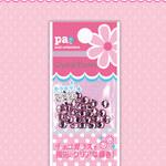 pa|クリスタルストーン ピンク ss16 30粒 chek06